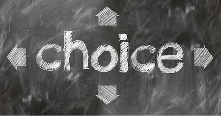 人生における選択の仕方(悔いのない人生を送るため)