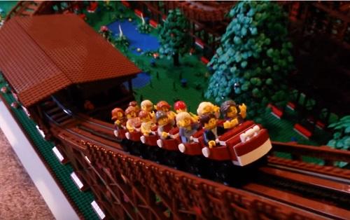 レゴ(REGO)のジェットコースターに乗ったことある?