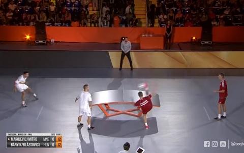 この新しいスポーツはいずれ人気爆発するだろう!(テックボールの動画)
