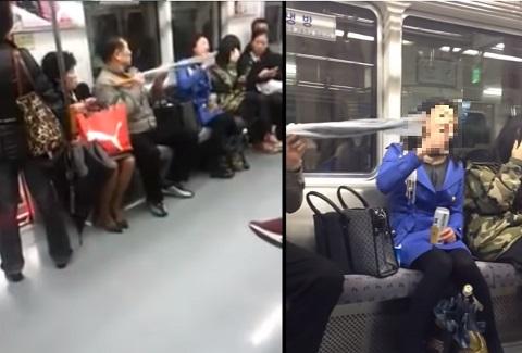 姉さん、大変です!電車内で火病が、発病しました!!